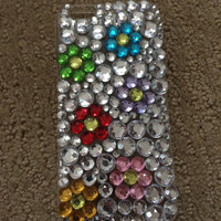 Rhinestone Floral iPhone 6 Case