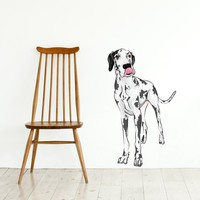 Spotted Great Dane  - Wall Decal