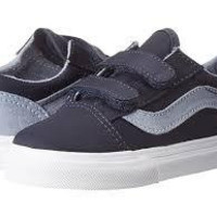 Vans Old Skool V(T)-(T&C)Dress Blues/Capt Blue