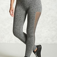 Active Fishnet Panel Leggings