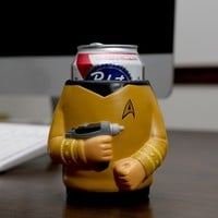 Star Trek™ Captain Kirk Drink Kooler - Beer Can Koozie