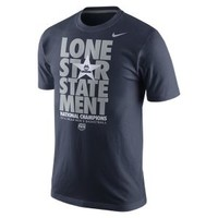 "The Nike Locker Room ""Lone Star Statement"" (Connecticut) Men's T-Shirt."