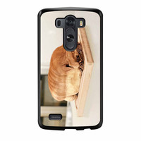 Pug Loaf Of Bread Cute Funny LG G3 Case