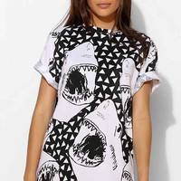 Illustrated People Shark Tee- White