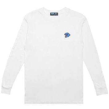 Rare Panther - Panther L/S T-Shirt (White)