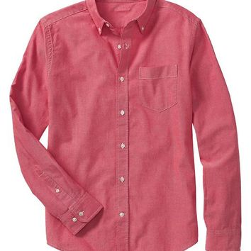 Gap Men Factory Oxford Shirt Slim Fit