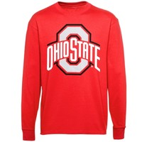 Ohio State Buckeyes Athletic O Long Sleeve T-Shirt – Scarlet