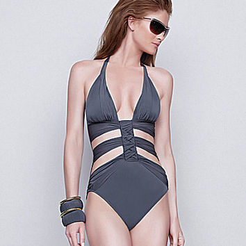 Gottex Dream Weaver Monokini Halter One-Piece | Dillards.com