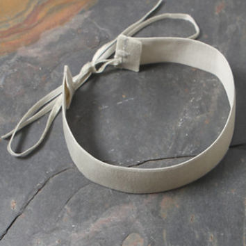 LA Hearts Gray Velvet Choker at PacSun.com
