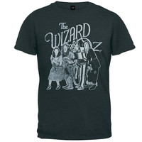 Wizard of Oz - Distressed Group Soft T-Shirt