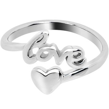 Valentines Day Lots of Love Heart Toe Ring