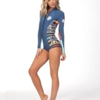 WOMEN'S G-BOMB SUBLIMATED L/S BIKINI CUT SPRING 1MM