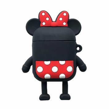 Faceless Minnie Protective Airpod Case