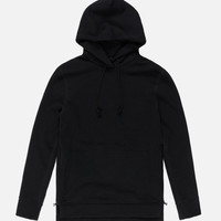 Loopwheel Hooded Villain / Black