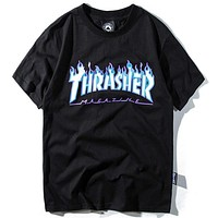 Trendsetter Thrasher Women Men Fashion Casual Shirt Top Tee