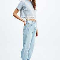Urban Renewal Vintage Customised Levi's Light Wash Jeans - Urban Outfitters