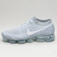 Nike Air Max VaporMax Flyknit Men Women Running Shoes Lack blue G-FEU-SY