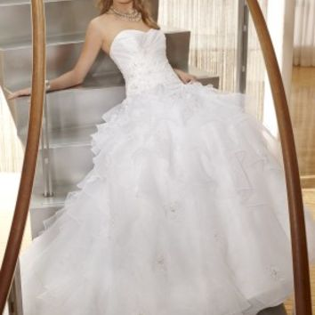 Strapless Ballgown Wedding Dress