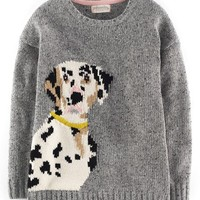 Girl's Johnnie B by Boden 'Aimee' Intarsia Knit Sweater,
