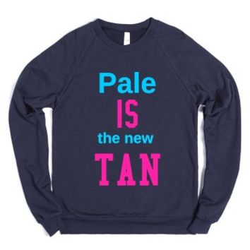 Pale Tan-Unisex Navy Sweatshirt