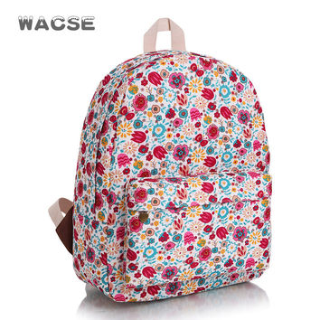 Korean Canvas Fashion Casual Stylish Travel Backpack = 4887916100