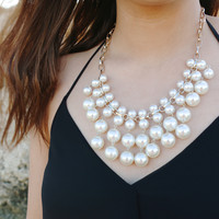 Pearls of Wisdom Statement Necklace