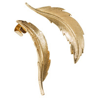 Earrings with ear cuffs - from H&M