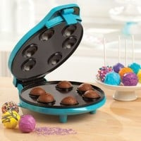 BELLA 13547 Cake Pop & Donut Hole Maker, Turquoise