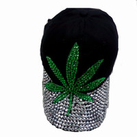Women's Diamond Weed Hat