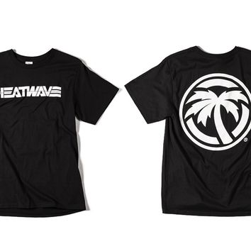 Heat Wave Billboard T-Shirt Black (SIZE S & XL ONLY)