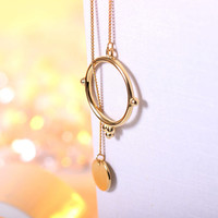 Gift New Arrival Shiny 925 Stylish Korean Summer Sweater Chain Hot Sale Jewelry Silver Necklace [10467603284]