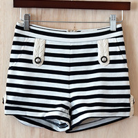 Pin Up Sailor Shorts