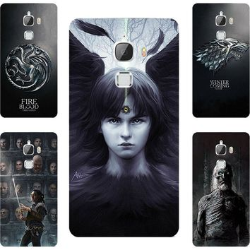 House Stark Lannister Game Of Throne Hard PC Painting Case for Letv Leeco LE 2 / LE2 Pro X520 X620 X527 Cell Phone Printed Cover