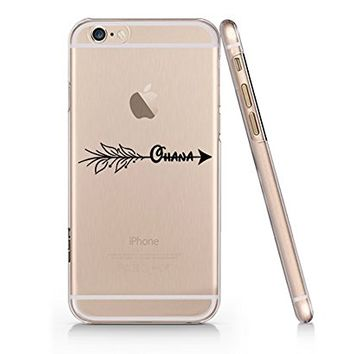 Lucky Arrow Henna Ohana Slim Iphone 6PLUS Case, Clear Iphone Hard Cover Case For Apple Iphone 6PLUS Emerishop (iphone 6 plus)