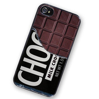 Chocolate Bar, Candy Case IPhone Hard Case, Fits IPhone 4 And IPhone 4S - Black Trim | Luulla