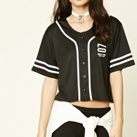 NY 07 Graphic Baseball Jersey