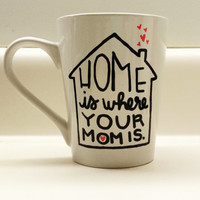 Home is Where Your Mom is Coffee Mug