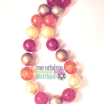Thanksgiving necklace - Fall necklace - Autumn necklace
