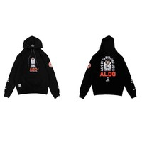 """Aape"" Unisex Casual Fashion Letter Pattern Astronauts Long Sleeve Hooded Sweater Hoodie Tops"