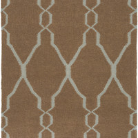 Surya FAL1008 Fallon Brown Rectangle Area Rug