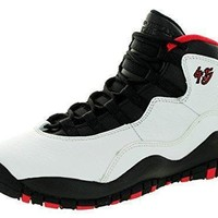 nike air jordan junior gs big kids retro 10 basketball shoes jordans shoes for girl  number 1