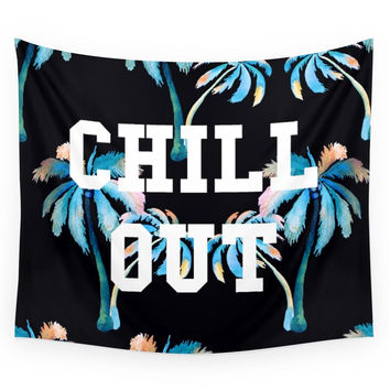 Society6 Chill Out Wall Tapestry