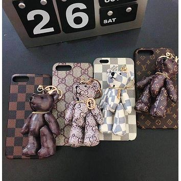 DCCKJ1A Gucci mobile phone case iPhone X iPhone 8 8plus iPhone6 6s 6plus 6s-plus iPhone 7 7plus F