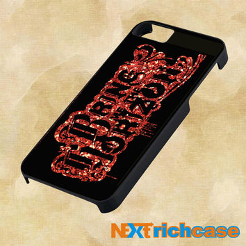 bring me the horizon red sprakly glitter For iPhone, iPod, iPad and Samsung Galaxy Case
