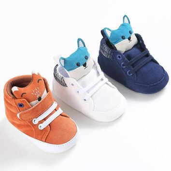 ROMIRUS New Baby Shoes Branded First Walkers Infant Baby Girl Boy Pram Crib Shoes Soft Sole Newborn Baby Boys Shoes Sneakers