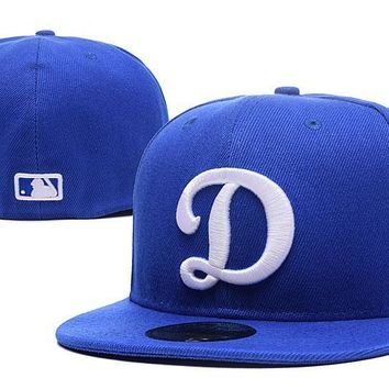 PEAPON Los Angeles Dodgers New Era MLB Authentic Collection 59FIFTY Cap Blue-White D