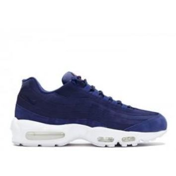 Ready Stock Nike Air Max 95 Stussy Loyal Bule White Sport Running Shoes