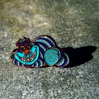 The Sapphire Cheshire Alice in Wonderland Cat String Cheese Incident Hat Pin
