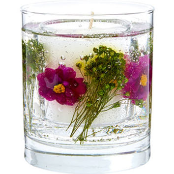 Stoneglow Daisy Flower Scented Gel Candle