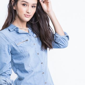 Denim Days Chambray Shirt